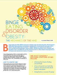Bed Eating Disorder Obesity Action Coalition Binge Eating Disorder And Obesity