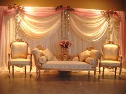 Wedding Entrance Backdrop Wedding Stage With Some Flowers Wedding Stage Ideas Pinterest