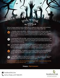 Halloween Safety Lights by Trickortreat Safety 2016 Outlined R U2013 Southern Oak Insurance