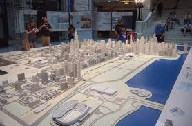 chicago been there seen that page 2 the tribune reported in 2009 that the model buildings came from columbian s workshop the exhibit is broken down into 400 city blocks in squares the size