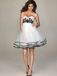 Black And White Wedding Dress Short Black Wedding Dresses Styles Of Wedding Dresses