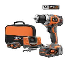 ridgid fuego 18 volt hyper lithium ion 1 2 in compact drill