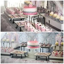 pink and grey baby shower pink and grey baby shower pink and gray baby shower via kara 39 s