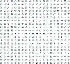 jolly icons u2013 400 hand drawn vector icons