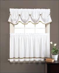 curtain rods stripe valance black duchess filler kitchen valances