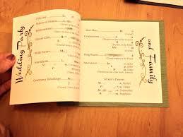 catholic wedding booklet wedding ideas what information goes onedding program sle