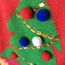 h m tree tacky sweater the sweater shop