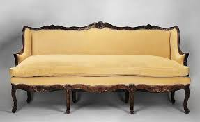 canape regence 18th c provincial régence canape or sofa kanap