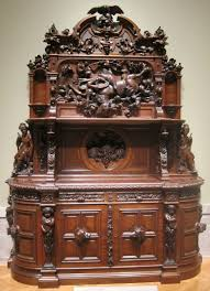 file walnut sideboard attributed to joseph alexis bailly c 1855