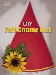 halloween costumes gnome diy felt gnome hat who needs a cape
