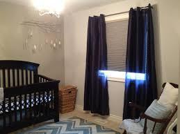 nursery blackout shades mean extra sleep for mom
