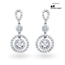 diamond drop earrings diamond cluster halo drop earrings diamond boutique