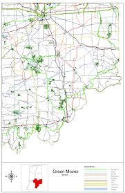 Indiana Map Us Indot Bicycle U0026 Pedestrian Program