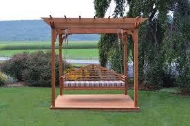 cedar outdoor pergola and deck by a u0026l furniture u2013 magnolia porch