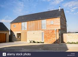 modern barn modern new build wood clad barn style housing bicester