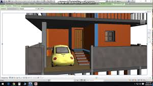 duplex house plan in 30x40 site with car parking ground floor
