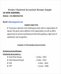 Fresher Accountant Resume Sample by Boost Your Career With Accountant Resume Template