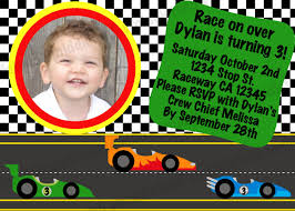 little man birthday invitations race car birthday invitations plumegiant com