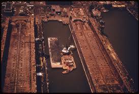 of media that will be file dredging new york harbor for spoils that will be dumped in