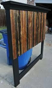Wood Headboard Ideas Rustic Red Wooden Headboards Reclaimed Wood Farmhouse Headboard