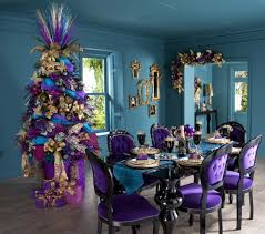 wedding decoration divine picture of purple table setting