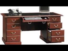 Computer Desk Cherry Wood Home Office Executive Computer Desk Table Cherry Wood Furniture Pc