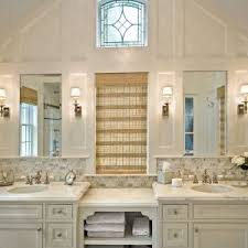Marble Bathroom Vanity Tops New York Carrera White Marble Bathroom Traditional With Arched