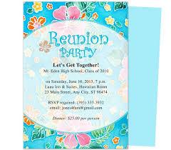 class reunion flyer template stackerx info
