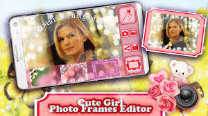 cute photo frames editor android apps on google play