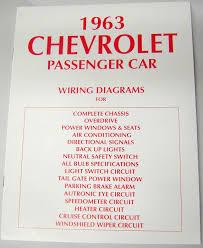 63 chevy impala electrical wiring diagram manual 1963 i 5