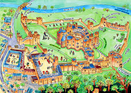 England Maps by Alnwick Castle And Gardens Travel Pinterest Alnwick Castle