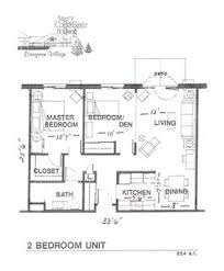 The Amery Floor Plan Evergreen Village Congregate Living In Amery Wi