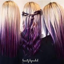 25 beautiful purple blonde hair ideas on pinterest blonde hair