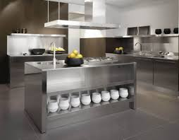 Kitchen Cabinets Perfect Metal Kitchen Cabinets Stainless Steel - Retro metal kitchen cabinets