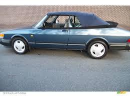 saab 900 convertible 1993 lemans blue metallic saab 900 s convertible 70570574 photo
