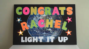 congratulation poster artskills congratulations poster with lights
