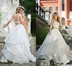 two wedding dress roberto motti 2016 wedding dress gowns beading tiers