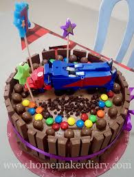 cake transformers a kitkat transformers birthday cake a homemaker s diary