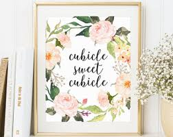 What Plants Are Cubicle Friendly by Cubicle Decor Etsy