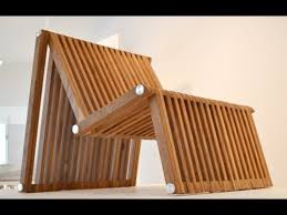 coffee tables that turn into tables it s a chair a bed and a table youtube