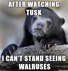 Walrus Meme - going full walrus meme on imgur