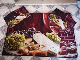 tapis cuisine original tapis cuisine 3 pieces a 55dt bon qalite vente jhez la3roussa en