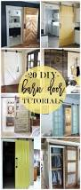 How To Make Your Own Barn Door by 20 Diy Barn Door Tutorials
