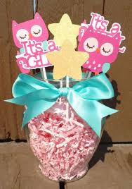 baby girl shower centerpieces appealing owl baby girl shower decorations 14 in unique boy baby