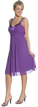 purple dresses for weddings knee length knee length plum dress chiffon empire waist casual plum
