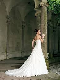 fairytale princess white strapless bridal gown with corset back