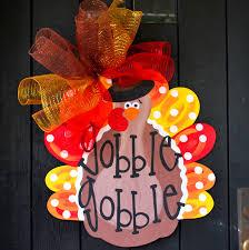 turkey door hanger thanksgiving wreath turkey wreath