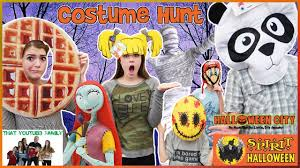 halloween costume shopping hunt follow us around that youtub3