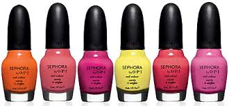sephora 3 for 10 opi nail polishes online or in store reg