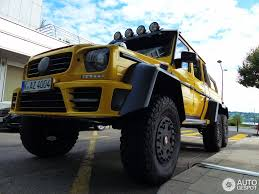 mercedes benz mansory gronos g 63 amg 6x6 1 camionetas mercedes